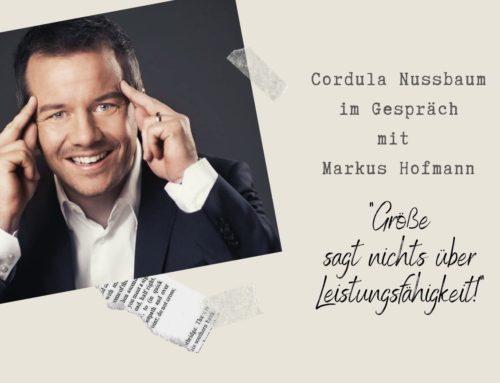 """Markus Hofmann: """"Größe sagt nichts über Leistungsfähigkeit"""""""