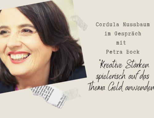 """Petra Bock: """"Kreative Stärken spielerisch auf das Thema Geld anwenden"""""""