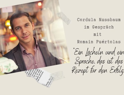 """Romain Puértolas """"Ein Lächeln und eine Sprache, das ist das Rezept für den Erfolg"""""""