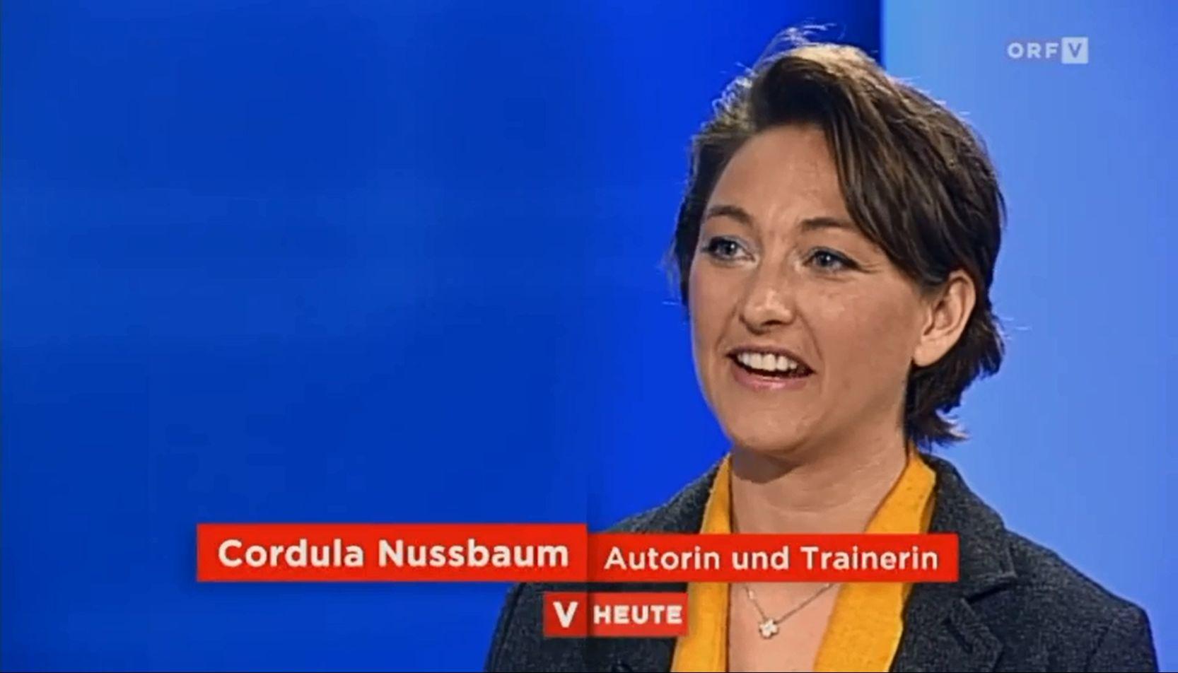 TV-Expertin Cordula Nussbaum zum Thema Motivation und Zeitmanagement
