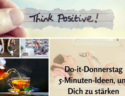 Positiv denken: Die 5-Minuten-Glücks-Challenge