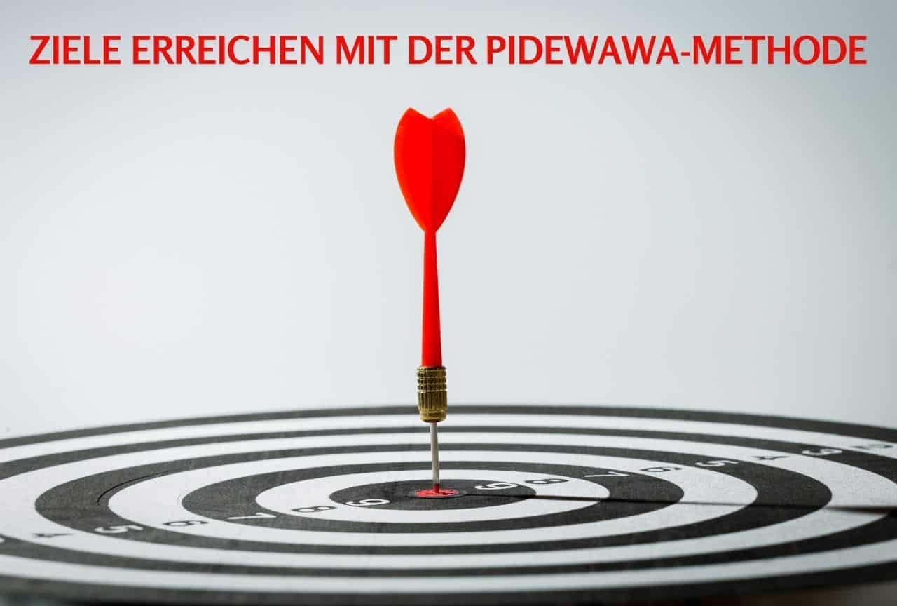 Ziele erreichen Pidewawa