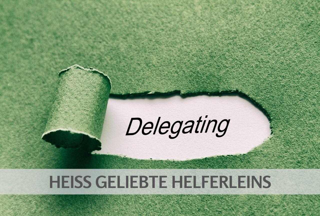 Delegieren_Helferlein