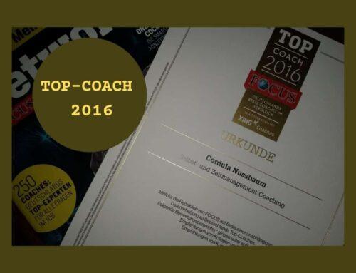 Ausgezeichnete Arbeit: Top-Coach 2016