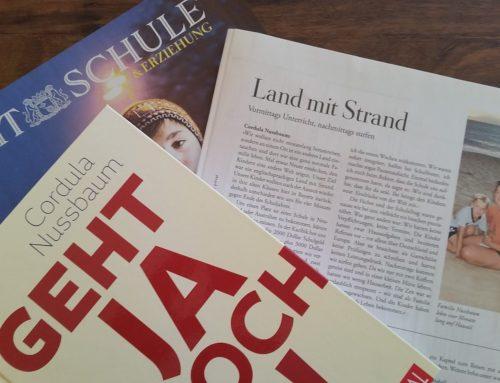 """Die ZEIT: """"Land mit Strand"""" – ein Erfahrungsbericht über ein Geht-ja-doch!-Projekt"""
