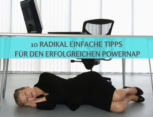 Powernap: Viel entspannter mit dem Kopf-Schlafsack 🛌