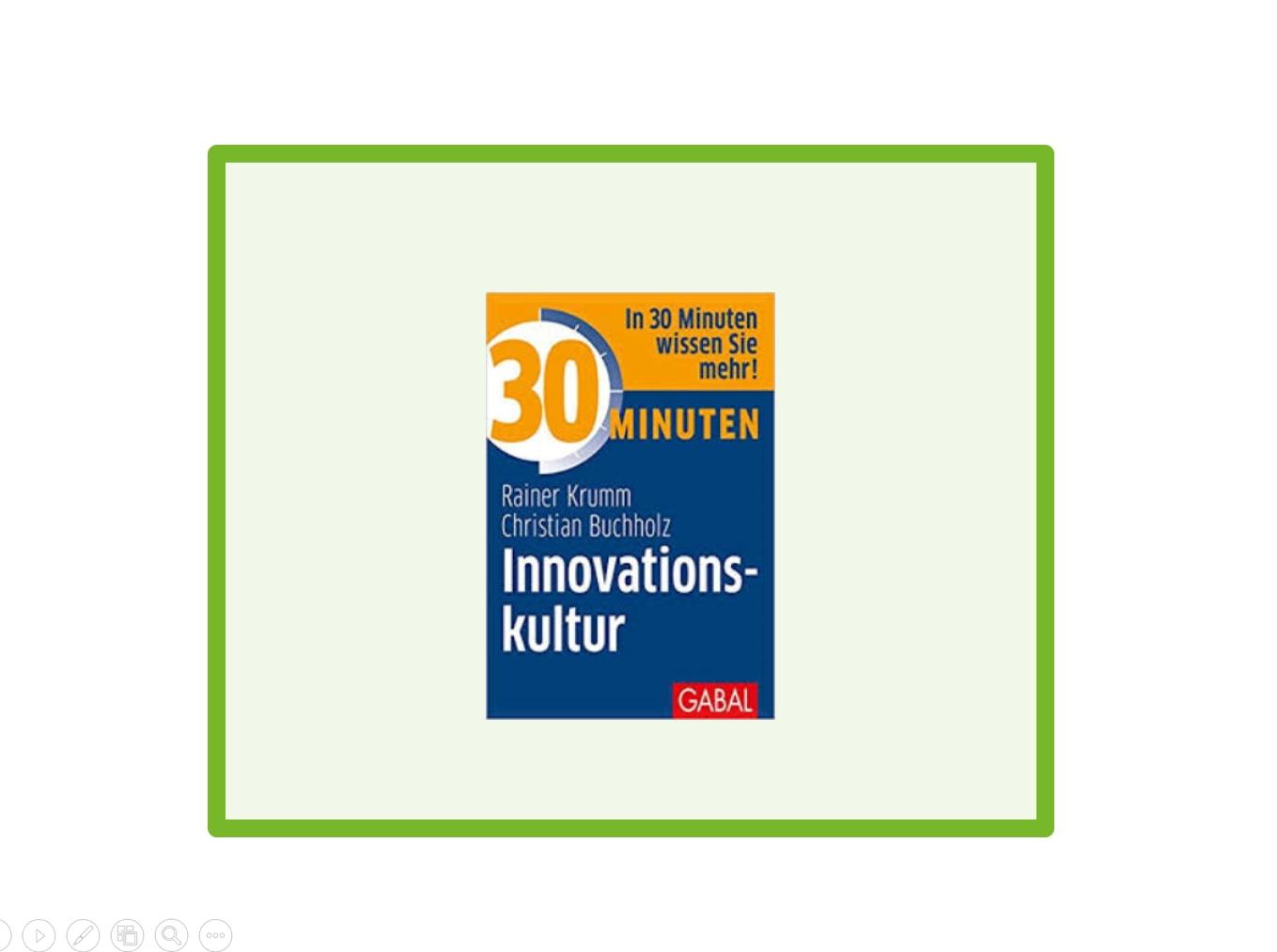 innovation, innovationskultur, rainer krumm, christian buchholz, kreativität, wertesystem