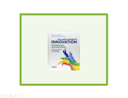 Buch-Tipp: Das große Handbuch Innovation von Christian Buchholz