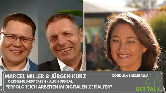 So geht Büro heute - der Talk mit Jürgen Kurz und Marcel Miller
