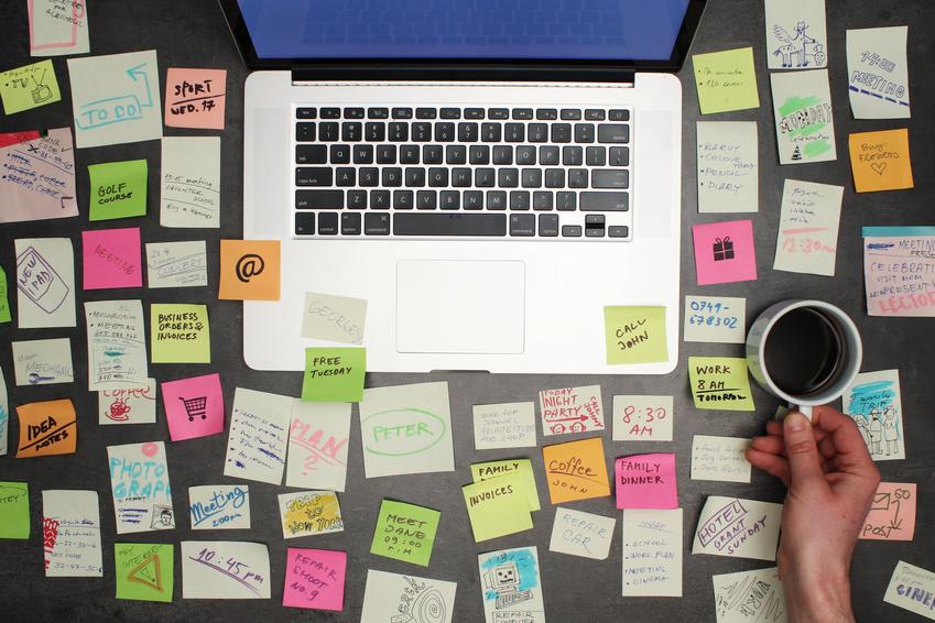 Wieviel Ordnung am Schreibtisch muss sein?