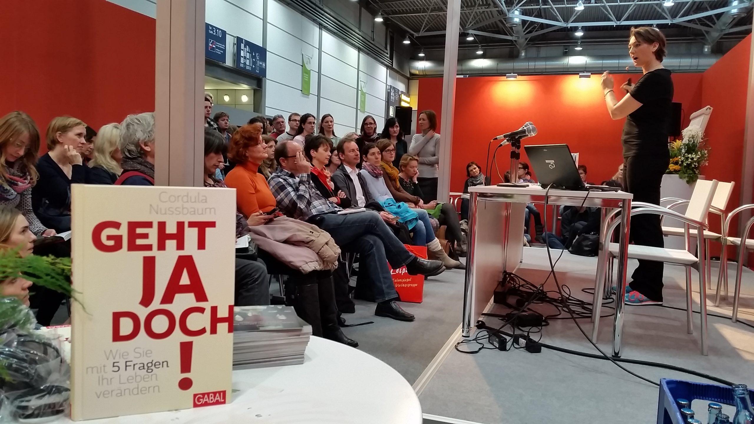 """Der Bestseller und Longsellertitel """"Geht ja doch!"""" war Aufsteiger-Titel des Jahres 2015."""