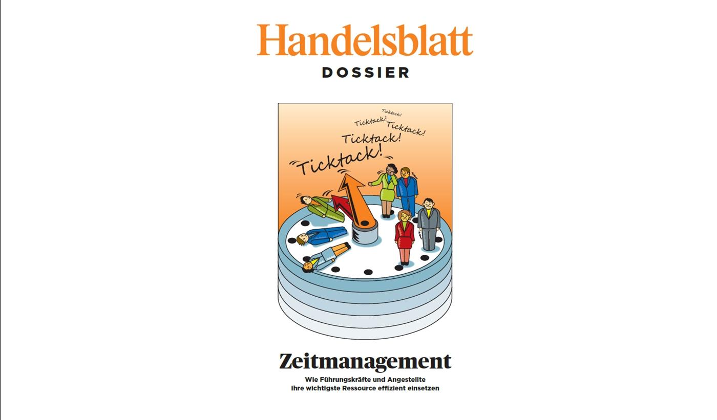 handelsblatt dossier zeitmanagement