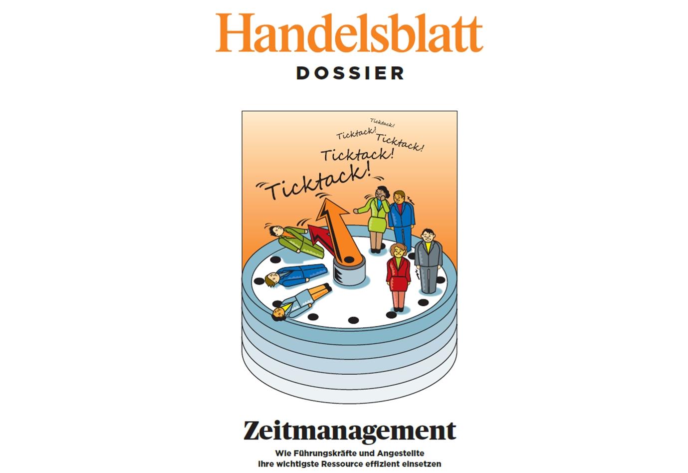 Handelsblatt Dossier Zeitmanagement - mit Experten-Tipps von Cordula Nussbaum