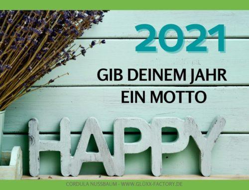 """Jahreswechsel ist """"Motto-Zeit""""! So findest Du Deinen ultimativen Leitstern für 2021"""