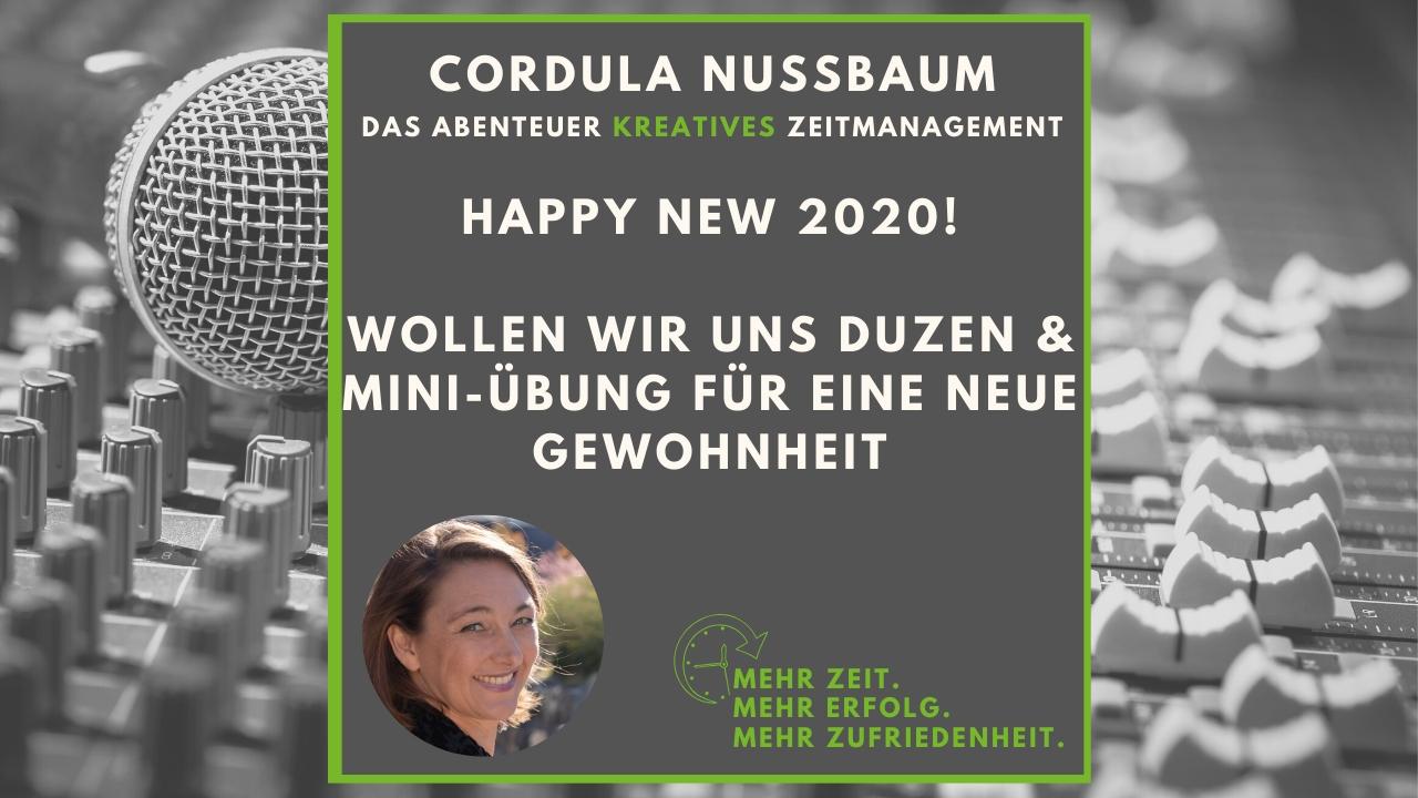 zeitmanagement podcast cordula nussbaum