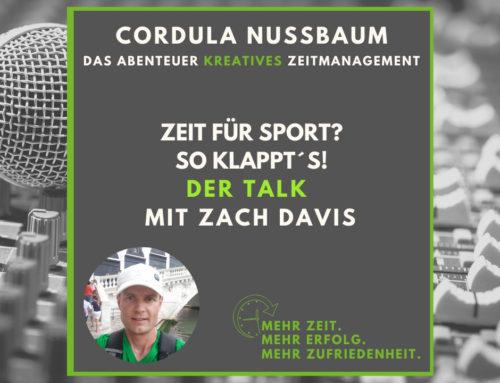 """Guter Vorsatz """"Mehr Sport""""? – So klappt´s Der TALK (Podcastfolge #090)"""
