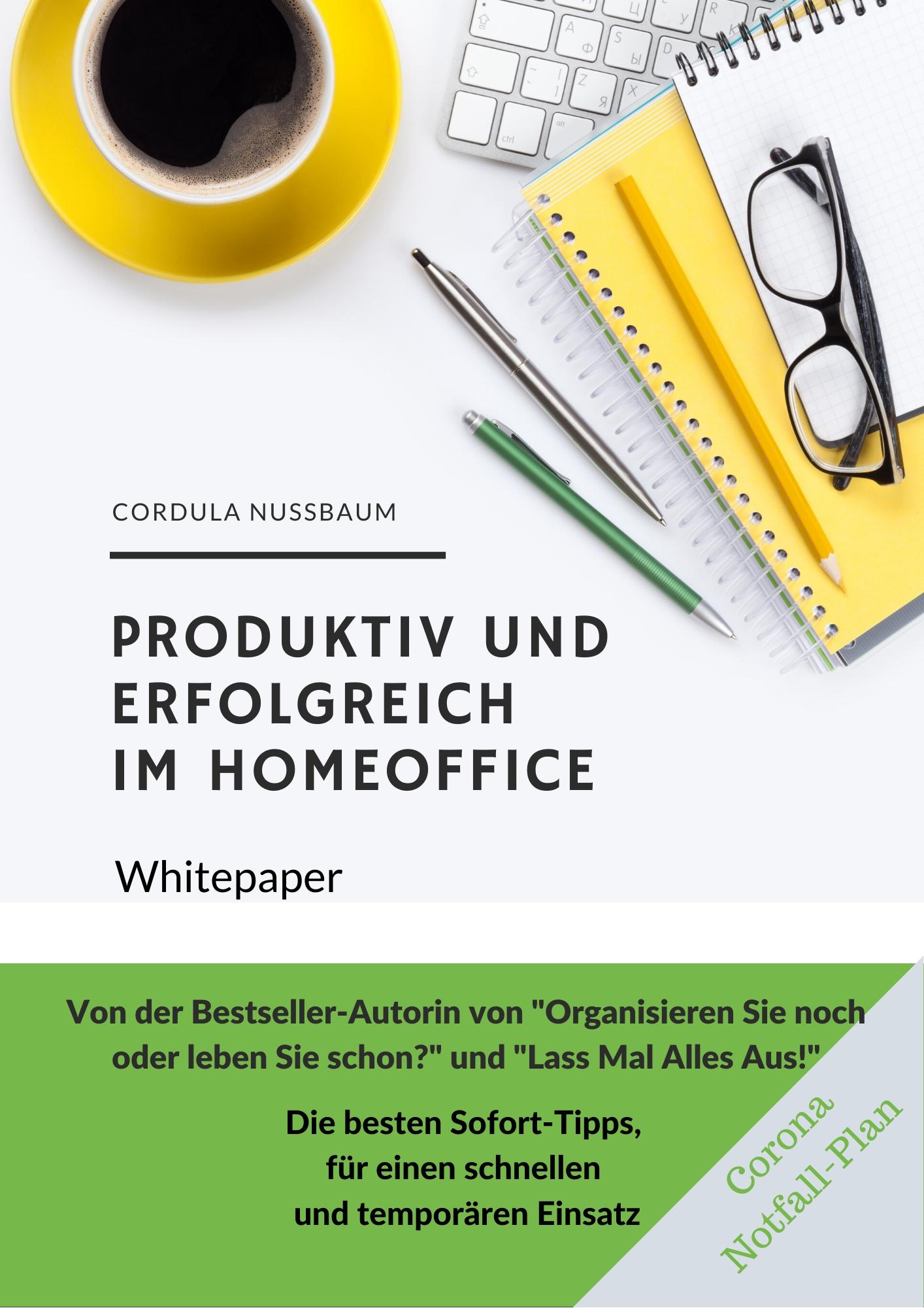 homeoffice home-office effektiv und produktiv arbeiten tipps whitepaper