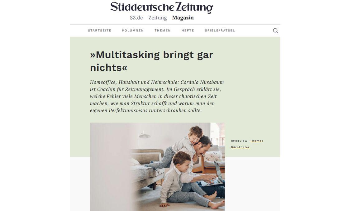 süddeutsche zeitung magazin homeoffice interview