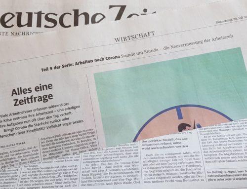 Süddeutsche Zeitung: Arbeitszeit neu gedacht – Interview