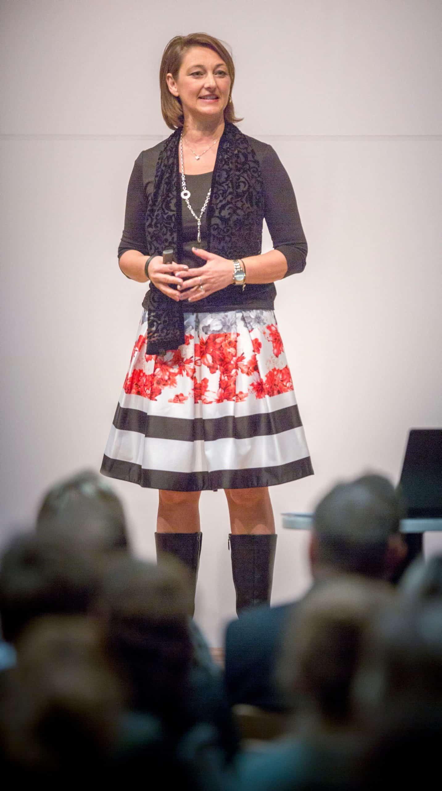 Cordula Nussbaum als Rednerin