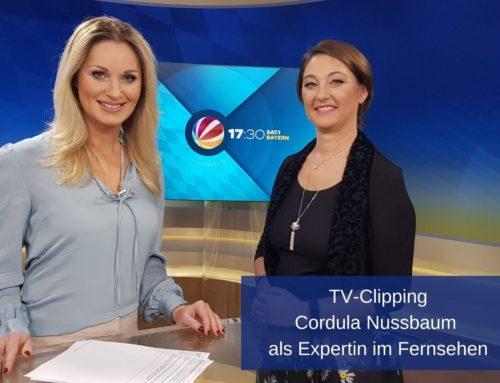 Wirtschaftspsychologin und Coach Cordula Nussbaum als Expertin im Fernsehen
