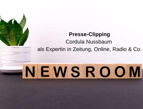 Wirtschaftspsychologin und Autorin Cordula Nussbaum in Print, Radio & Online