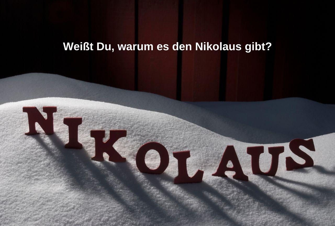 Warum kommt der Nikolaus?
