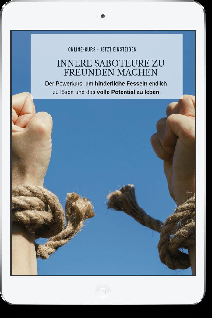 Innere Saboteure zu Freunden machen