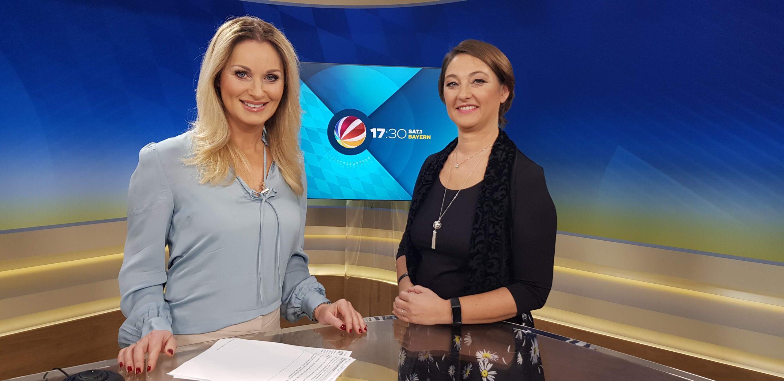 Coach Cordula Nussbaum als Expertin im Fernsehen