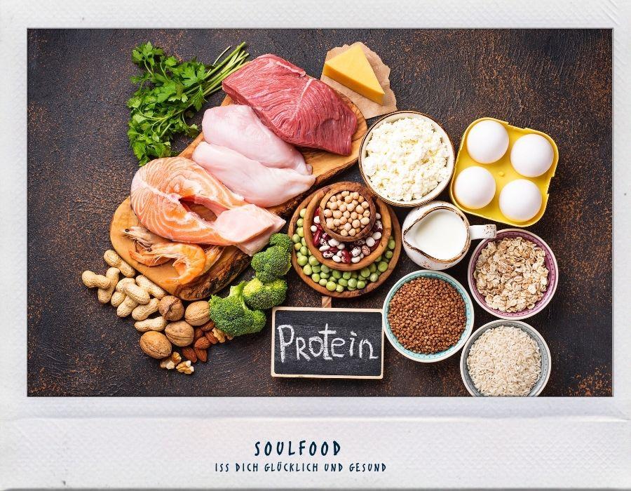 Soulfood: Proteine als Baugerüst