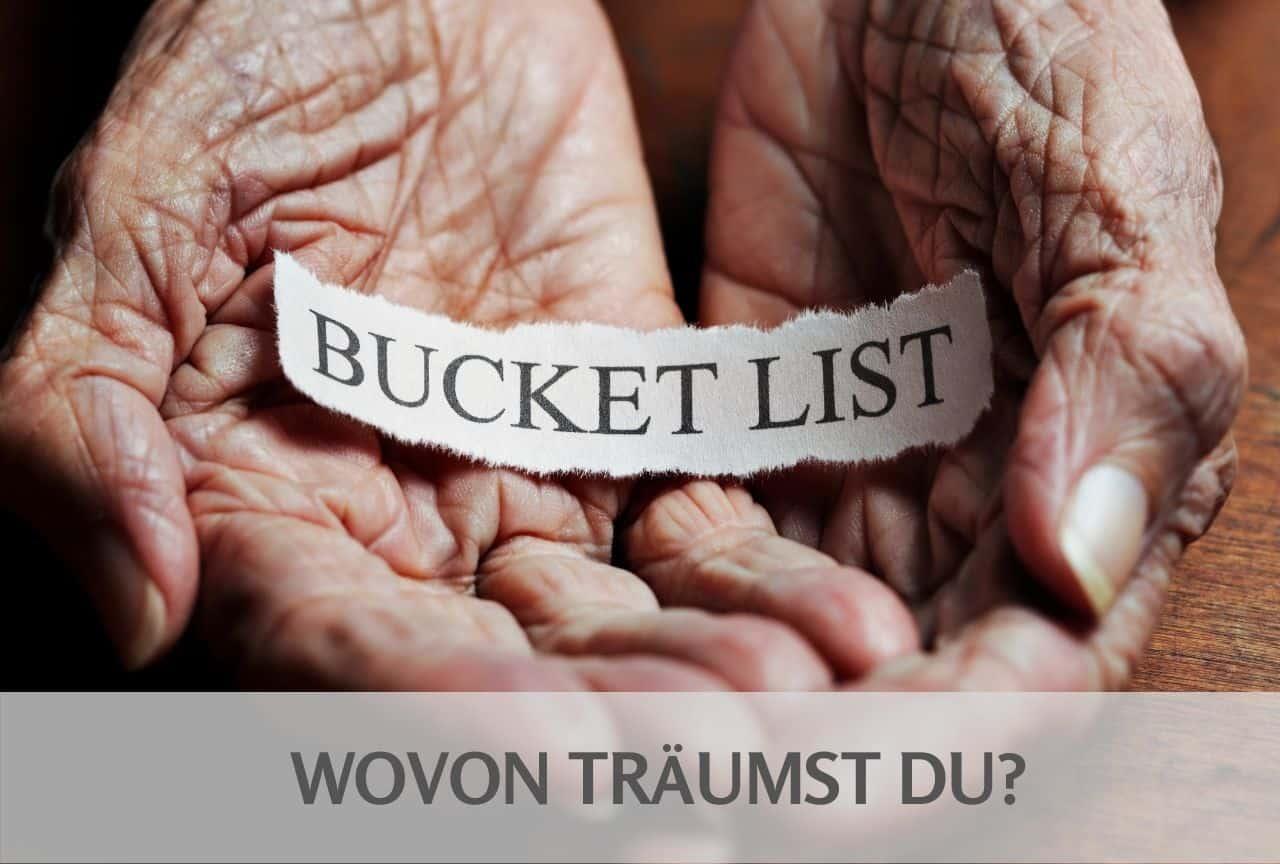 Löffel-Liste / Bucket-List: wovon träumst du?