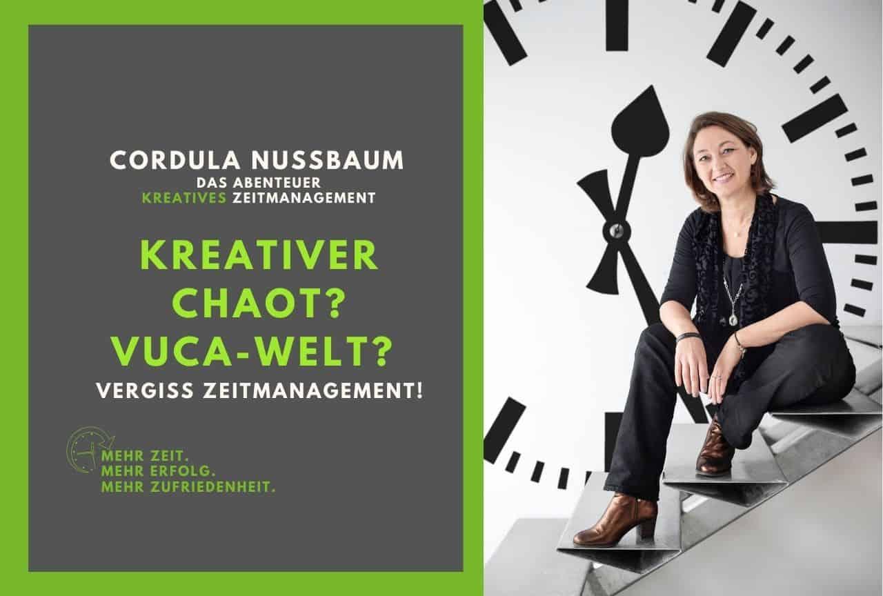 zeitmanagement kreativer chaot vuca